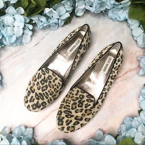 Steve Madden Cheetah Print Loafer Flats